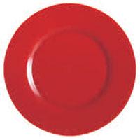 """צלחת 32 ס""""מ סול אדום-פפריקה"""