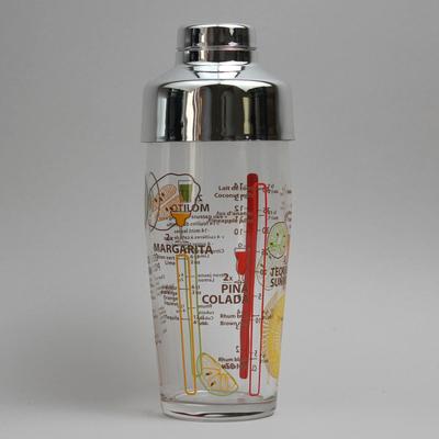 """שייקר זכוכית+מכסה מסנן 58.5 ס""""ל"""