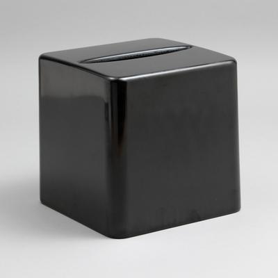 מתקן לטישיו גבוה שחור