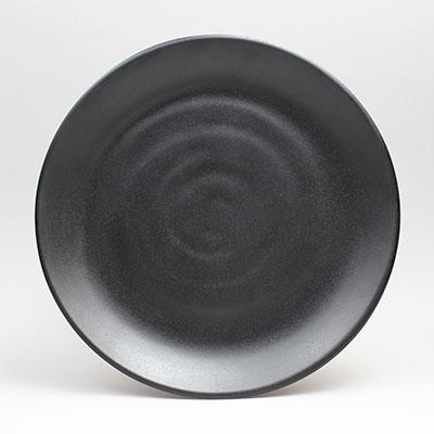 """צלחת דמוי אבן שחור 28 ס""""מ אישיקבה זן"""