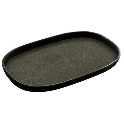 מגש גסטרונום 1/3-20 קפסול אפור/שחור מלמין