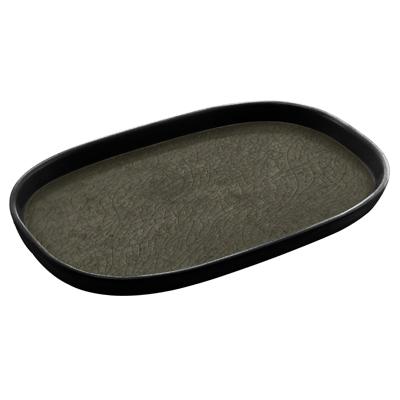 מגש גסטרונום 1/4-20 קפסול אפור/שחור מלמין