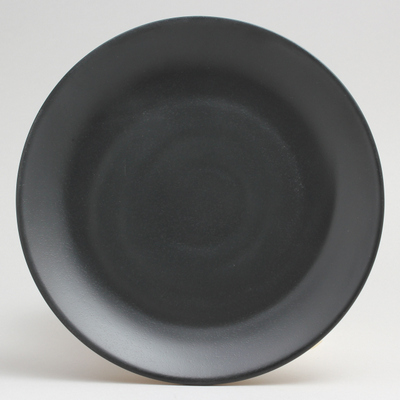 """צלחת זן ווינד 17.8 ס""""מ מלמין שחור"""