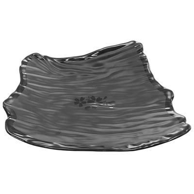 """פלטה טוקיו 30X23.2 גובה 5.6 ס""""מ סקורה מלמין שחור"""