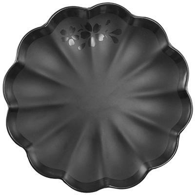 """צלחת קויאנג 22.5 ס""""מ סקורה מלמין שחור"""