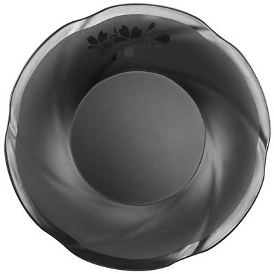 """צלחת פאטאיה עמוקה 22.5X3.3 ס""""מ סקורה מלמין שחור"""