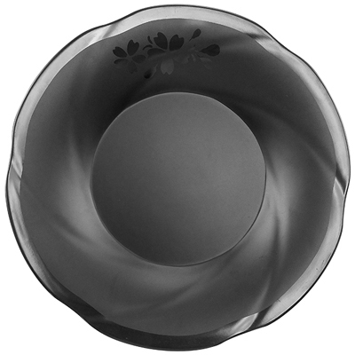 """צלחת פאטאיה עמוקה 25.3X3.7 ס""""מ סקורה מלמין שחור"""