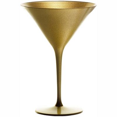 """כוס מרטיני/קוקטייל אולימפיק 24 ס""""ל זהב"""