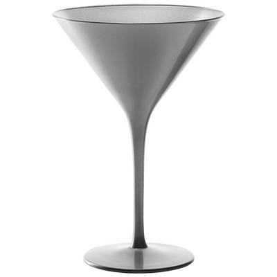 """כוס מרטיני/קוקטייל אולימפיק 24 ס""""ל רגל כסף"""