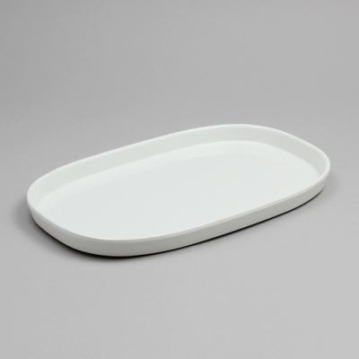 מגש גסטרונום 1/4-20 קפסול מלמין לבן