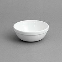 """לפתניה 12X4.5 ס""""מ נערמת מלמין לבן"""