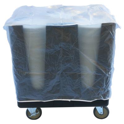 כיסוי פלסטיק לעגלת צלחות מודולארי