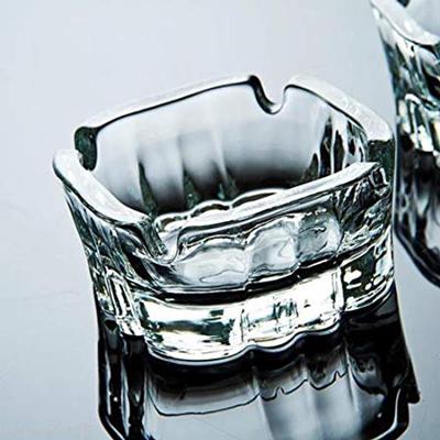 """מאפרה זכוכית 10.6 ס""""מ קארינה"""