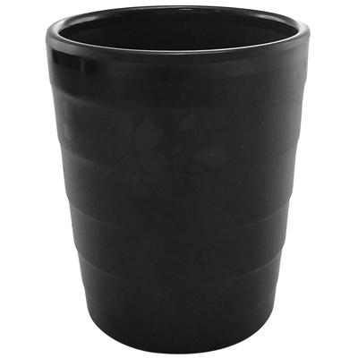 """כוס סקורה 7.2 גובה 9.2 ס""""מ מלמין שחור"""