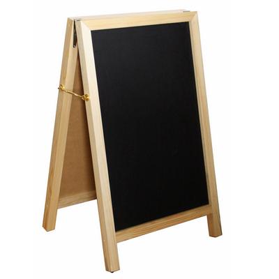 """לוח עץ לרישום גובה 105 רוחב 64 ס""""מ נפתח ל-2 צדדים"""