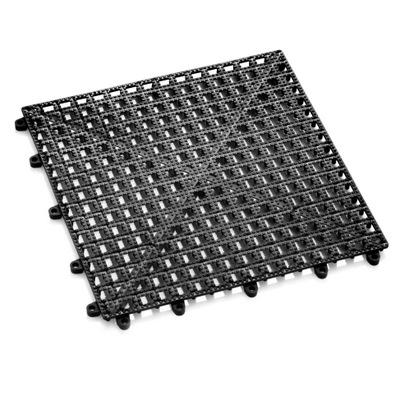 """משטח גומי שחור לבר זכר-נקבה 32×32 ס""""מ"""