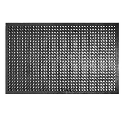 """משטח גומי לריצפה שחור ממוסגר 150X90 ס""""מ"""