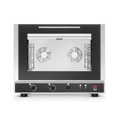 """תנור קונבקטומט 4 מגשים 60X40 ס""""מ 1/1 חד פאזי 2 מנועים מכני+טימר לחצן מים 3.4 ק""""וט"""
