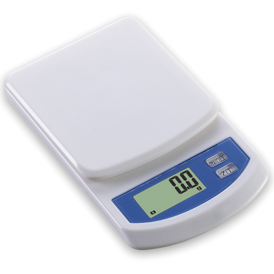 """משקל אבקות דיגיטלי 2 ק""""ג דיוק 0.1 גרם"""