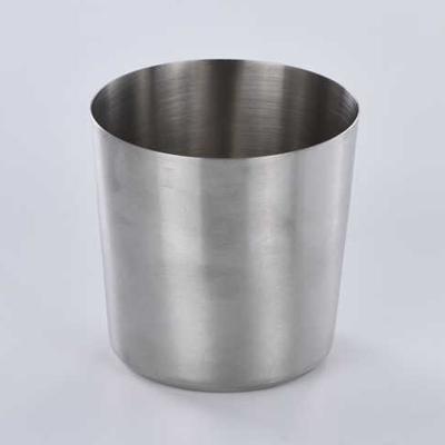 """כוס/כלי קוני מט נירוסטה 8.5 גובה 8.5 ס""""מ"""