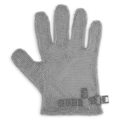 כפפה לקצב רשת פלדה 5 אצבעות מידה XL כתום