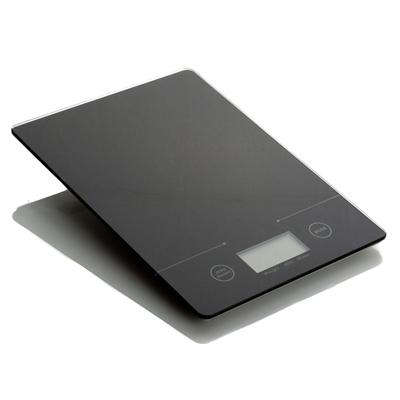 """מאזני מטבח דיגיטלי 5 ק""""ג דיוק 1 גרם שחור כולל בטריה"""