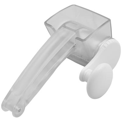 מגרדת סיבובית 180MM פלסטיק שקוף קשיח
