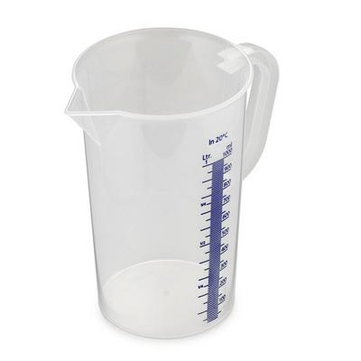 כד מידה 1/2 ליטר חרוט כיול כחול