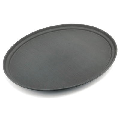 מגש אובל 68/56 פיברגלאס + גומי שחור