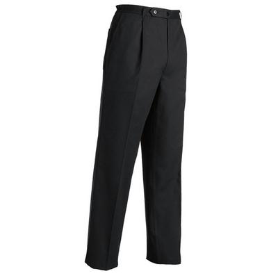 מכנס שחור בלק רוכסן עם כפתור