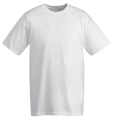 חולצת טריקו כותנה שרוול קצר שחור