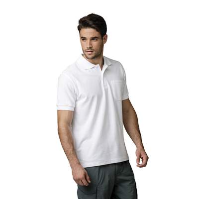 חולצת לקוסט פולו שרוול קצר עם כיס