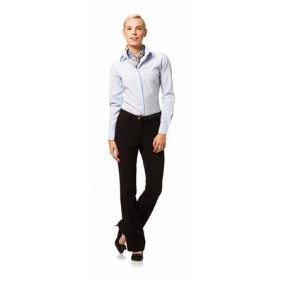 חולצת אלגנט לאישה שחור /לבן – למלצר