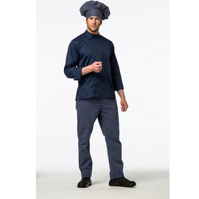 מכנס פסים כחול כהה 100% כותנה ארוגה