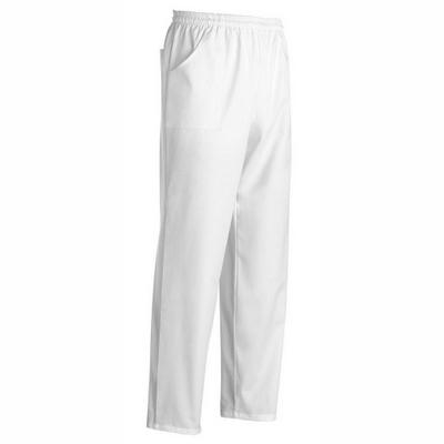 מכנס בד עם גומי לבן