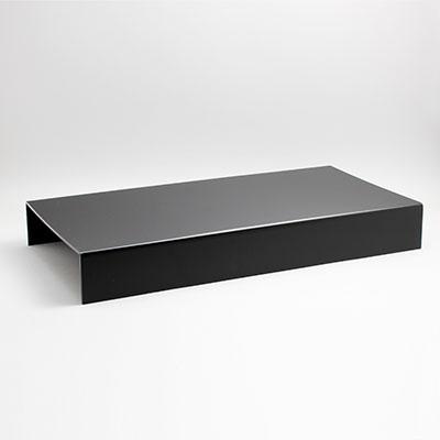 """הגבהה לתצוגה 59.5X29.5 גובה 8 ס""""מ שחור"""