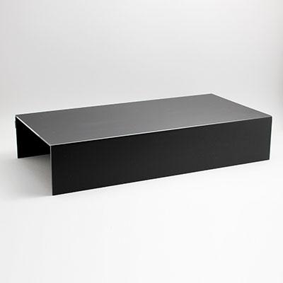 """הגבהה לתצוגה 59.5X29.5 גובה 12 ס""""מ שחור"""