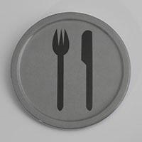 """שלט חדר אוכל 10 ס""""מ מלמין"""