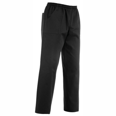 מכנס בד עם גומי שחור