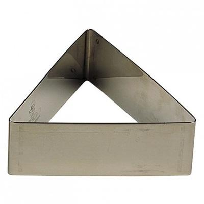"""טבעת משולש נירוסטה (גדול) גובה 6.5 ס""""מ"""