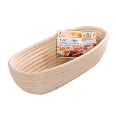 """סלסלת התפחה ללחם אובלית 28 ס""""מ"""