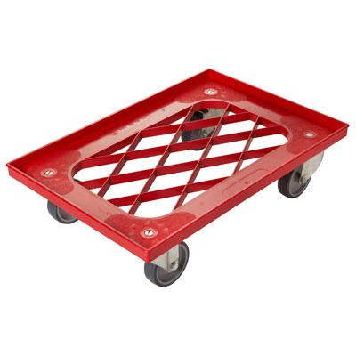 עגלה 60×40 לארגז בצק CA6040HJ (צבע אדום)